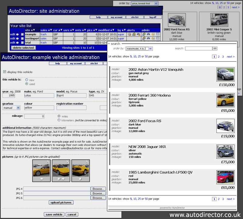 AutoDirector screenshot